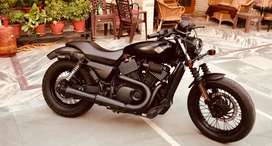 Harley davidson street 750 fully modified, done only 2800 kms