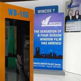 KACA film wincos wb di jamin paling dingin dan sejuk bosq