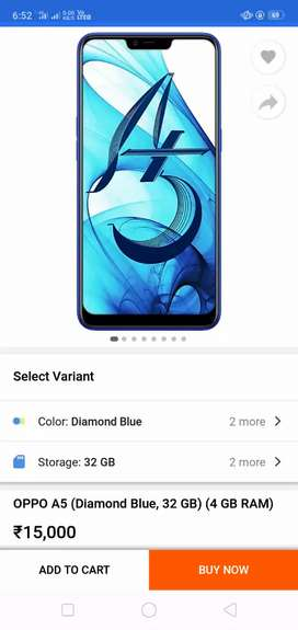 Oppo A5 the condition is so good