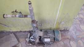 Old bore motor with PVC pipe