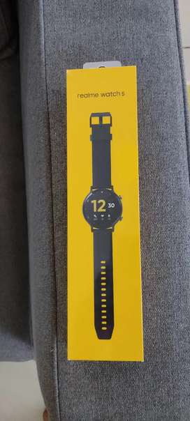 REALME watch S real time heart rate blood oxygen monitor