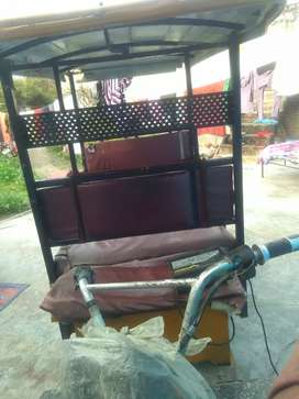 E rickshaw. On rent