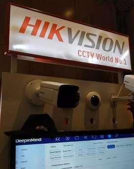 PROMO Cctv HIKVISION FULL HD2.0 Megapixel Gratis pasang komplit