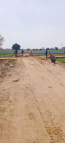 For selling plots in modipuram
