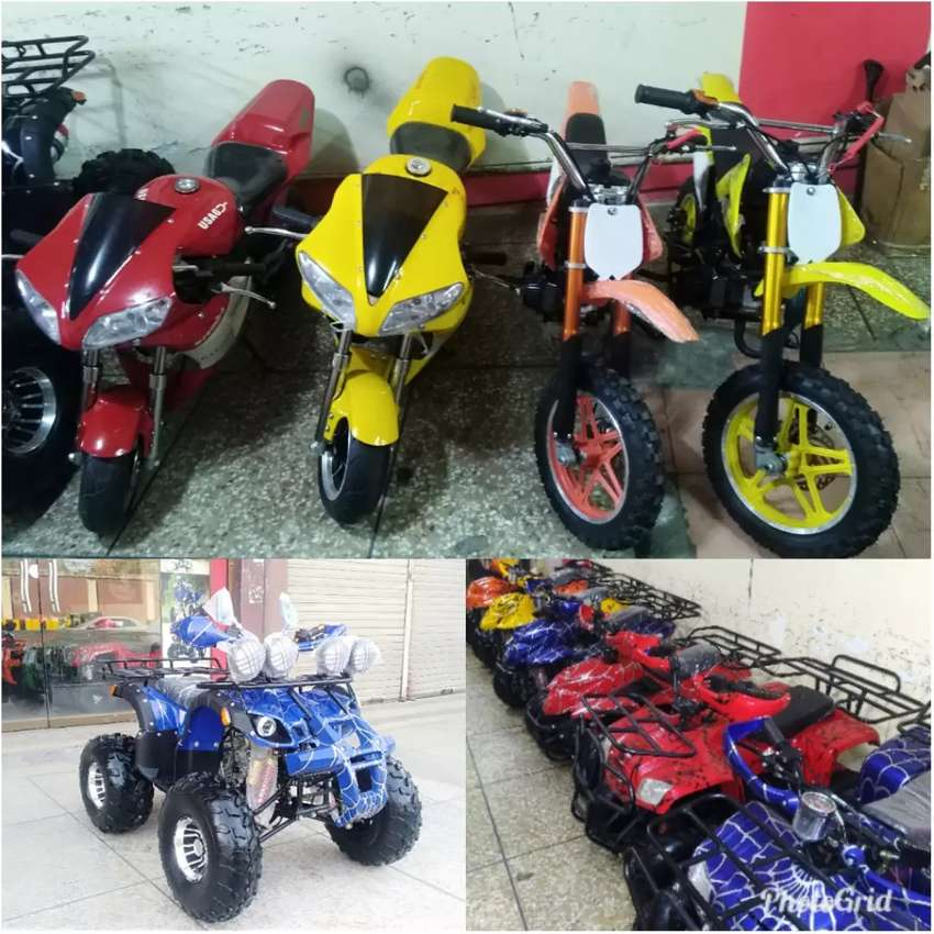 Kids Best Collection 2 & 4 Wheels Atv Quad Bikes At Reasonable Prices 0