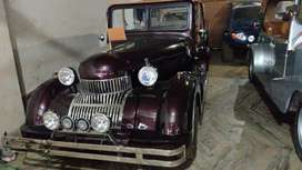Customised vintages car