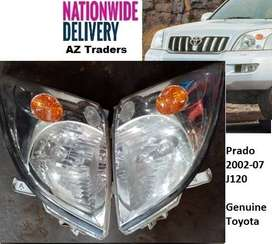 Genuine Original Headlight Front Light Land Cruiser Prado J120 02-07