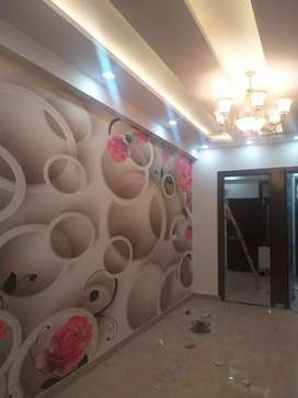 3bhk with lift and terrce in 33 lacs