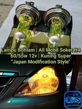 Lampu Bohlam Mobil H4 Kuning Spr Grand Max Kijang Panther Jazz Avanza