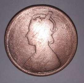 Old coin, rani victoriya