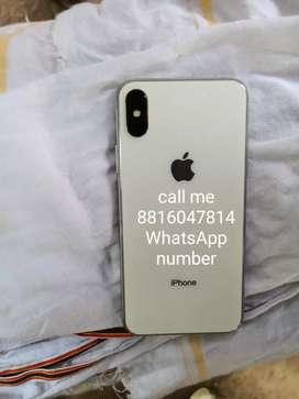 iPhone X 64GB bill box 7 month old