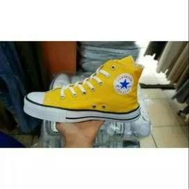 Sepatu Converse Kuning tinggi hight