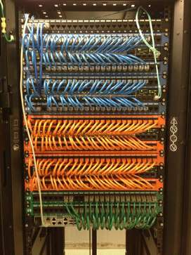 Computer Networking ( Dressing ) Patch Panel / IOS / Complete IT LABS