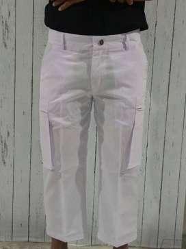 Celana Sirwal Muslim Jumbo Warna Putih / Celana Cingkrang Modern, Gaul