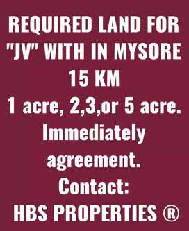 "LAND REQUIRED FOR "" JV """