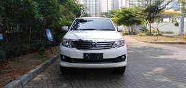 Fortuner 2.4 G At Diesel 2012 White Mutiara Cash/Kredit