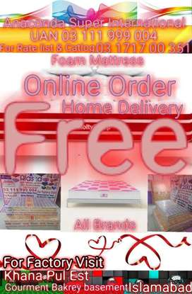 Foam Mattress All Brands With Package