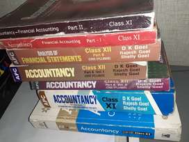 Class 11 and 12 commerce books