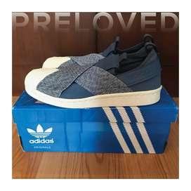 Adidas Superstar Slip On Shoes - Sepatu Sneakers Adidas