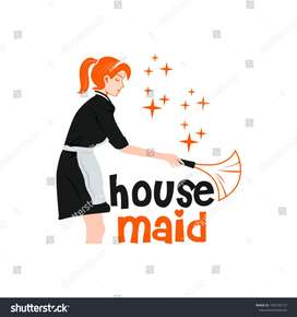 Maid-House Cleaner-Lady Maid