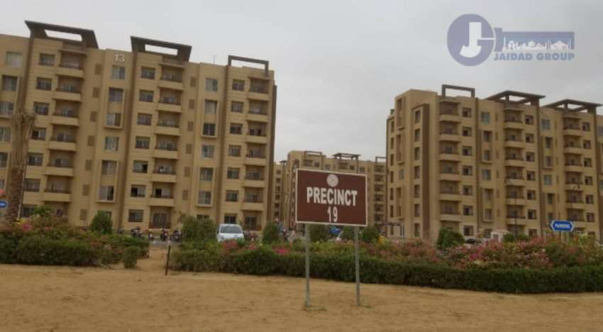 2 BED ROOMS BAHRIA APARTMENTS AVAILABLE ( OUTER SIDE FLATS ) 0