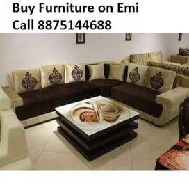 Buy New Sofa set 8550,L shape sofa 14000/-, 30% off, Finance available