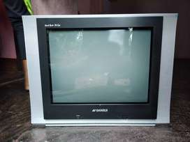 SANSUI 21inchas tv with remote working condition