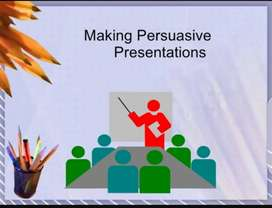 Professional Powerpoint presentation maker available