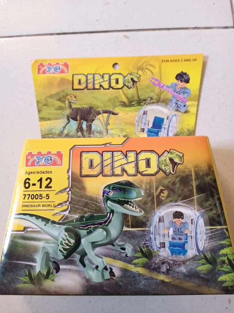 Mainan anak dino lego 0