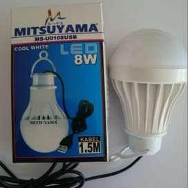 Lampu 8 Watt kabel usb Mitsuyama