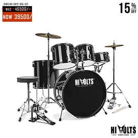 DRUM SET HI VOLTS DS-02 AT BIG DISCOUNT