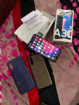 Samsung A30s 4/64gb  9 mnths old brand new condition female hand use