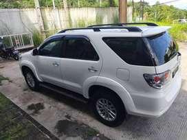 Dijual Toyota Fortuner 2,4 G AT th. 2013