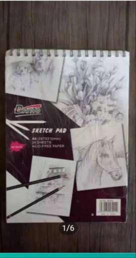 Buku Lukis Sketch Pad A4