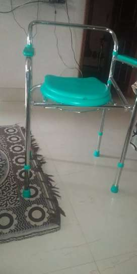 Foldable Potty chair for patients