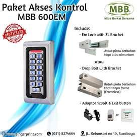 Paket Akses Kontrol Pintu MBB 600EM Water Resistant BEST SELLER