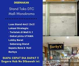 Disewakan Cpt Stnd DTC Mall-Wonokromo lt.1 Strtgis Murah Pmilik Lngsng