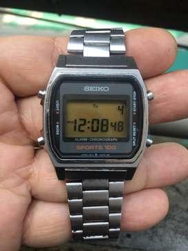 Seiko A914-5000 Sport 100 Vintage Digital Watch