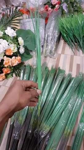 Rumput Bunga Plastik Iris Mini