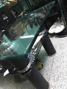 Glass table perfect for sitting room