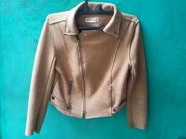 Jaket suede Liangian Fashion