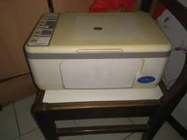 HP deskjet F4185 without cartridge