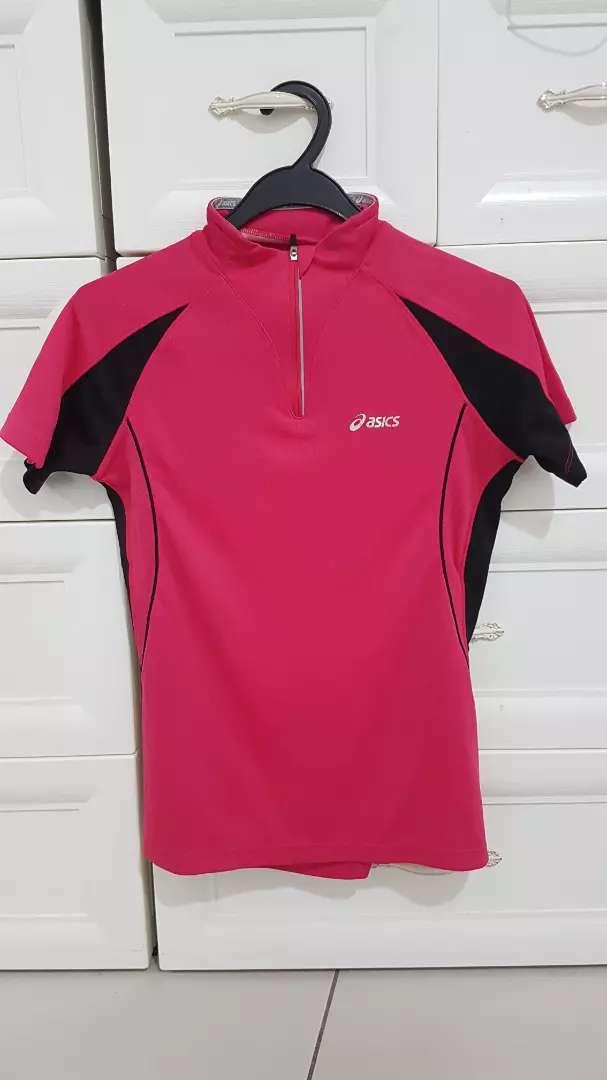 Baju olahraga wanita dry fit asics Original 0