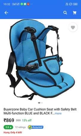 Baby car cusion seat