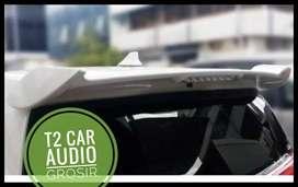 Spoiler belakang for SIGRA/CALYA model TRD warna putih mumer grosir