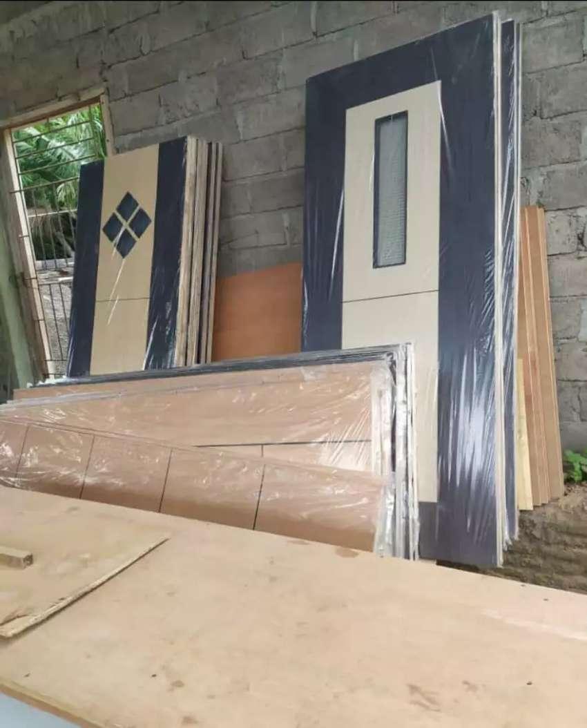 pintu multipleks, kusen kayu dan besi 0