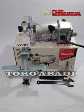 Mesin Profil propil Trimmer Kayu 6mm Makita N3701 N 3701