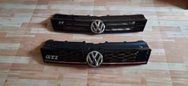 Polo front grill with vw logo