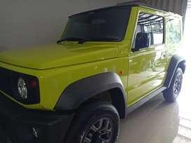 Suzuki Jimny Yellow Kinetic