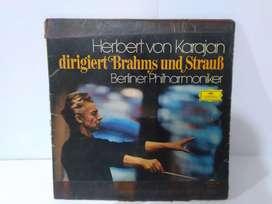 Vinyl Turntable 12 inch 33 1/2 RPM Herbert Karajan
